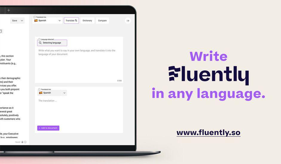 Fluently: le nouveau traducteur concurrent de Google Translate et DeepL