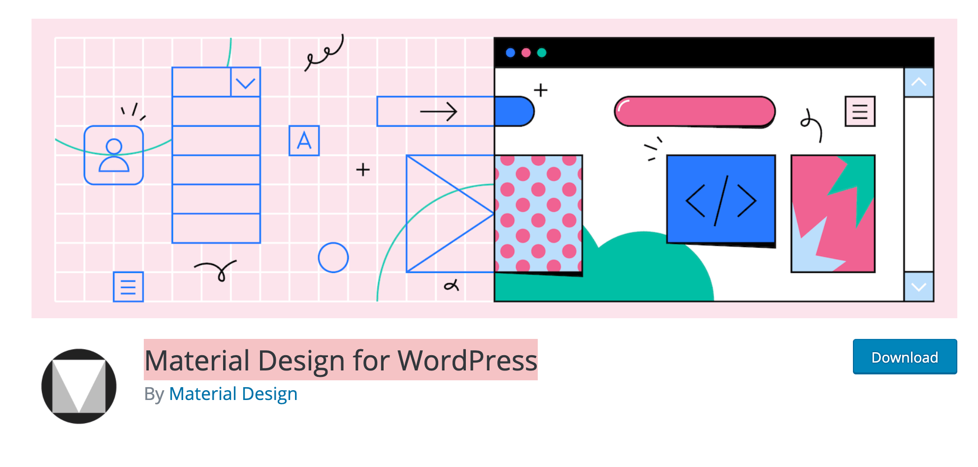 Material Design for WordPress: le nouveau plugin de Google pour créer un site WordPress en Material Design